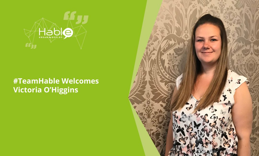 #TeamHable Welcomes Victoria O'Higgins