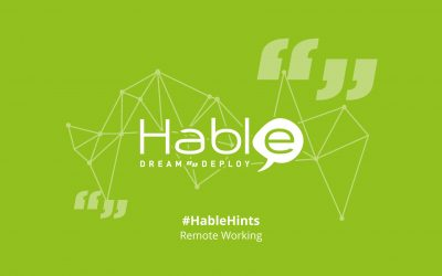 #HableHints: Tips from #TeamHable on Remote Working