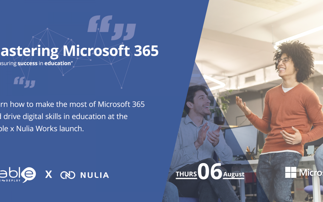 "Presenting ""Mastering Microsoft 365"" Hable x Nulia Launch"