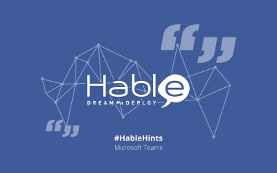 #HableHints: Making the Most of Microsoft Teams