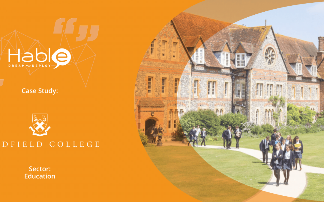 #TeamHable Customer Stories: Bradfield College