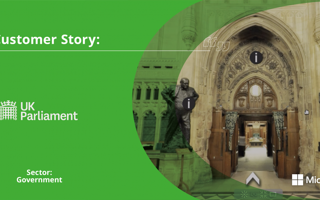 Customer Stories: Houses of Parliament's Virtual Tours on Microsoft Teams