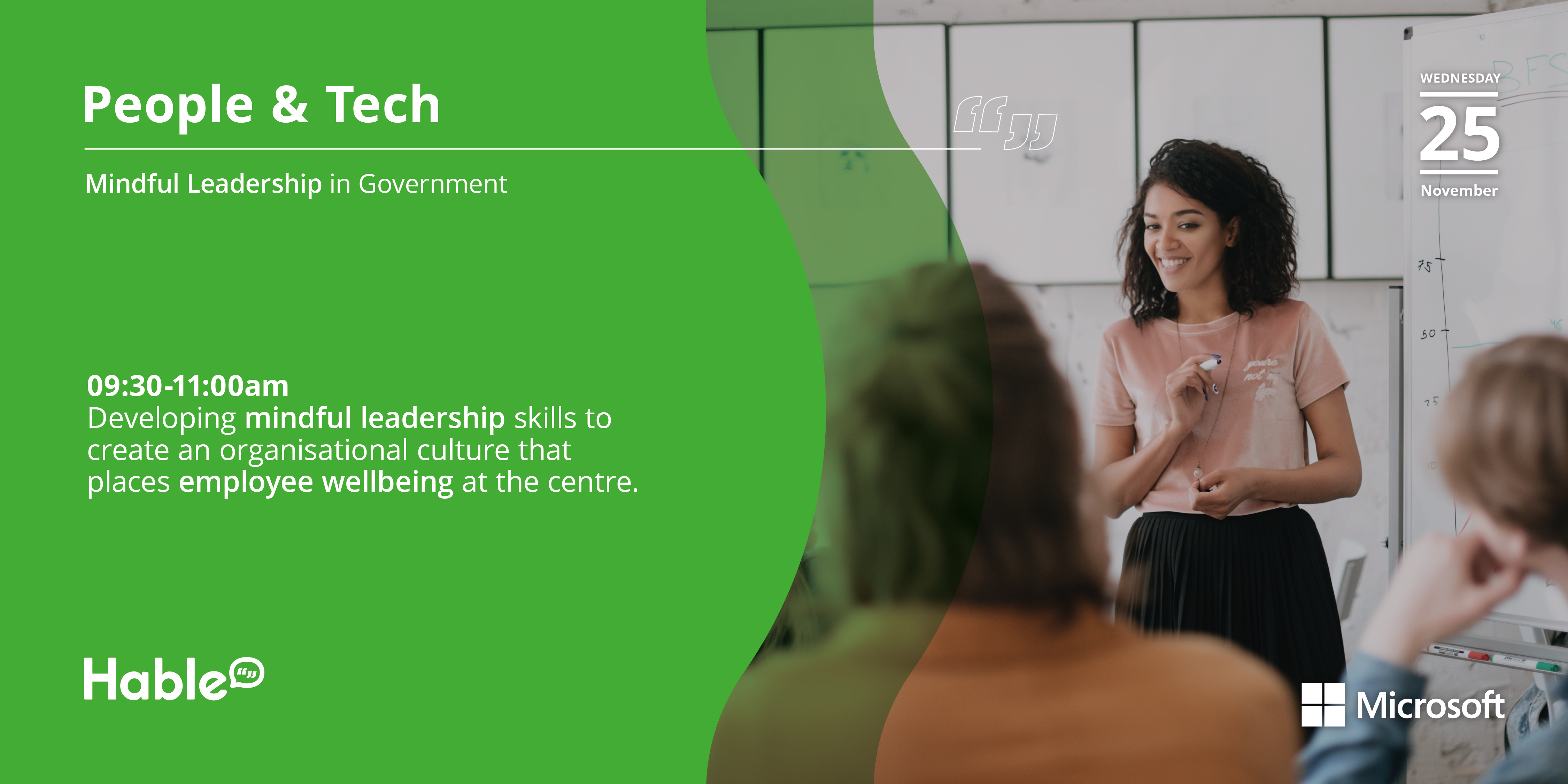 You're Invited to People & Tech: Mindful Leadership in Government