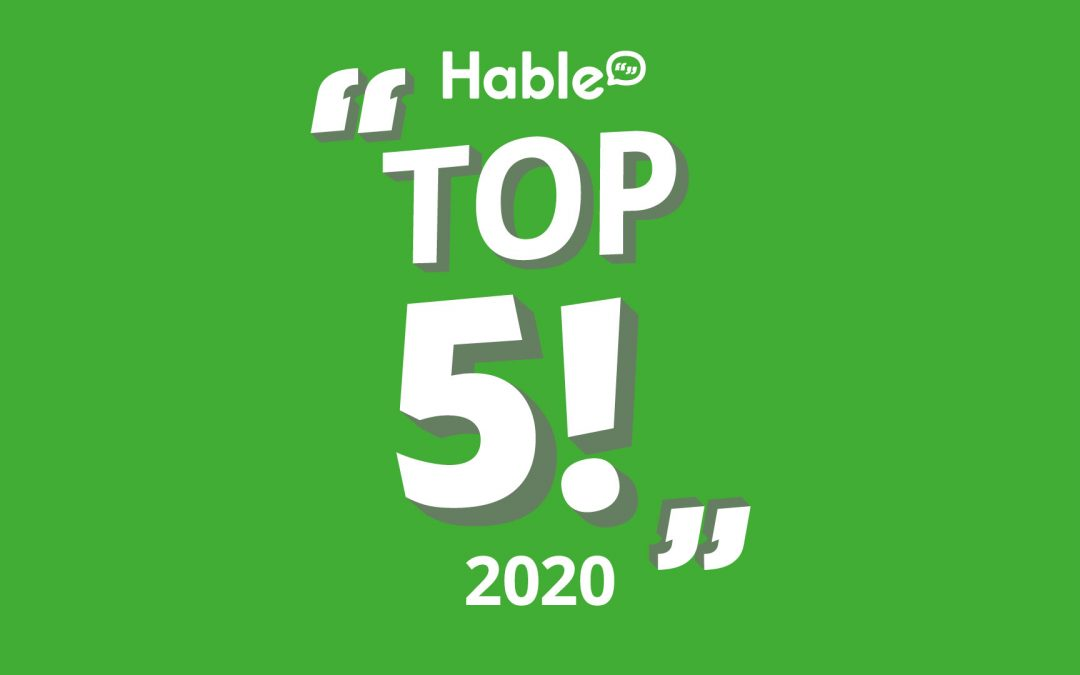 #TeamHable's End of Year Review: Top 5 Highlights