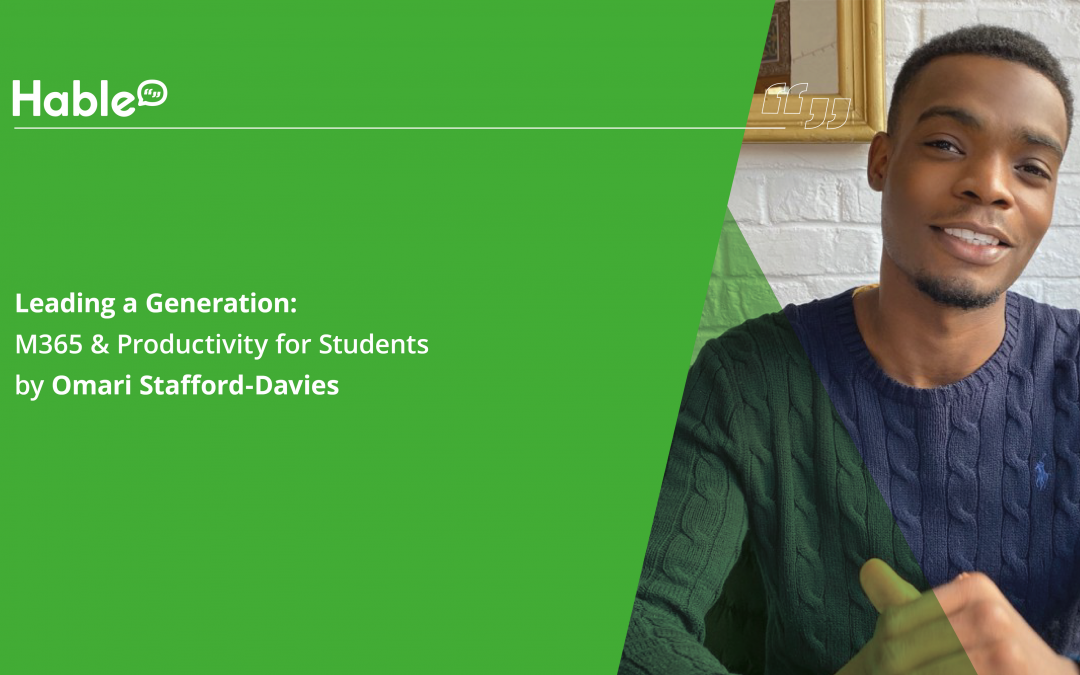Leading a Generation: M365 & Productivity for Students