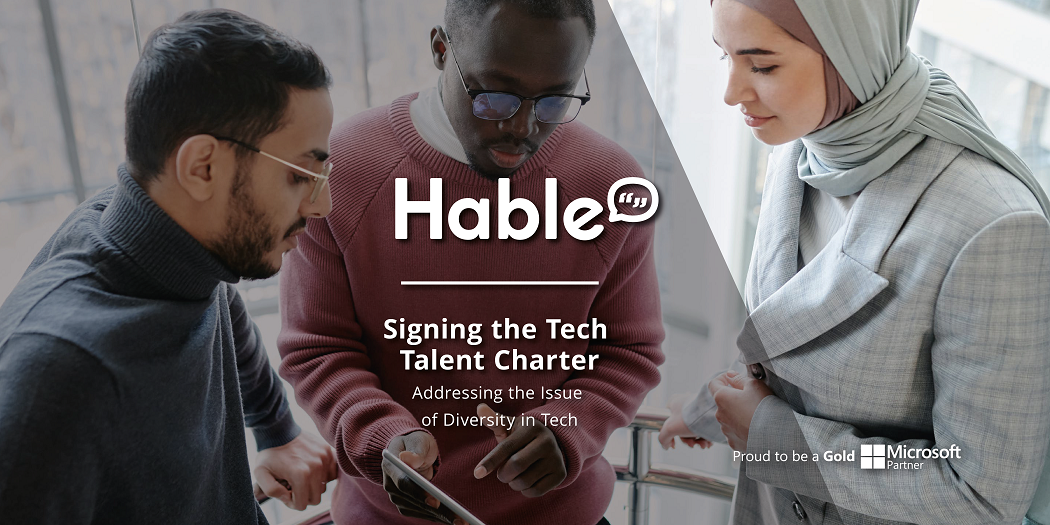 Signing up for the Tech Talent Charter: Our Commitment to Diversity in Tech