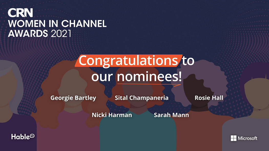 Five women from Hable nominated for CRN Women in Channel Awards 2021