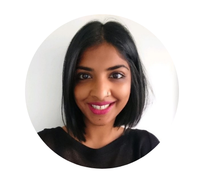 A headshot of Sital from Hable