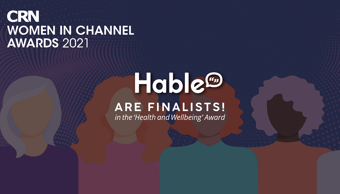 We are CRN Women in Channel Awards 2021 Finalists!